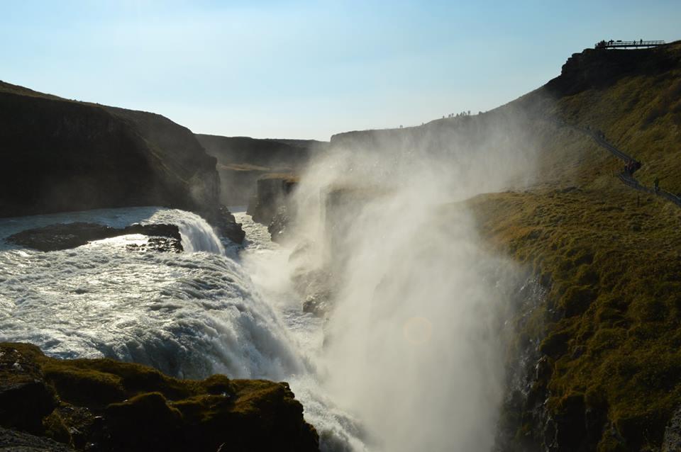 waterfall:mist